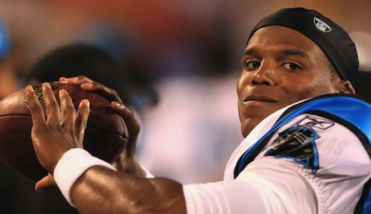 Carolina Panther rookie QB Cam Newton